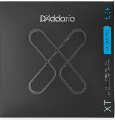 D'Addario XTAPB1253 Acoustic Guitar Strings Phosphor Bronze Light 12-53