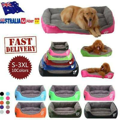 House Soft Warm Kennel Dog Mat Blanket Extra Large Pet Dog Cat Bed Puppy Cushion
