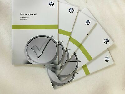 Genuine Vw Service Maintenance Book Not Duplicate All Models Fast Post