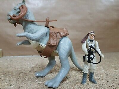 Star Wars.Figuras Tauntaun y Luke Skywalker Hoth.Kenner 1982