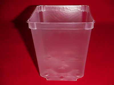 5 Premium Clear Plastic Small CUBE Boxes; 3 Inches Square for Retail and Gifts