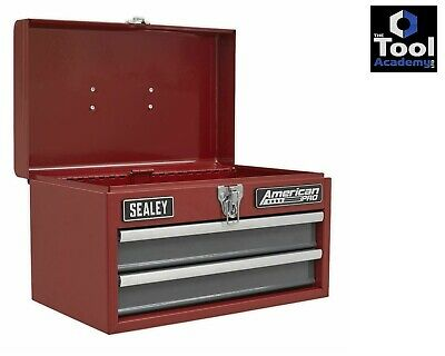 Sealey LAST FEW! American Pro Toolbox 2 Drawer with Ball Bearing Slides