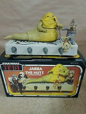 Star Wars.Retorno del Jedi.Jabba The Hutt.con caja.Kenner 1983