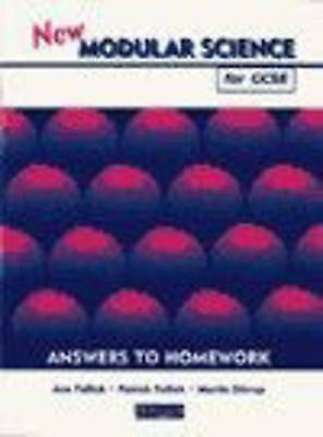 (Good)-New Modular Science for GCSE: Answers to Homework (Paperback)-Stirrup, Mr