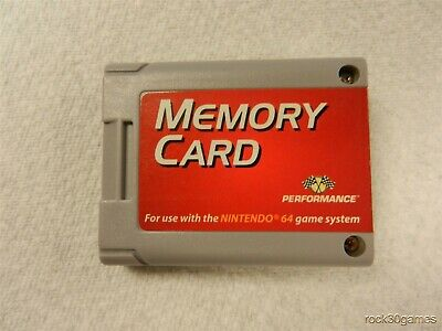 Memory Card Performance Brand for Nintendo 64 N 64