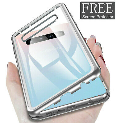 360 Magnetic Anti-peep Adsorption Phone Case For Samsung Galaxy Note 10 S10 Plus