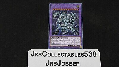 Yugioh! Blue Eyes Alternative Ultimate Dragon Tn19-En001 Prismatic Secret Rare!