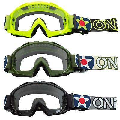 ONEAL B10 Twoface Goggle Goggle MX DH Brille schwarz//klar Oneal