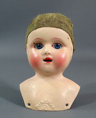 8 10 12 14 16 MM EYES LOT PAIR BROWN BLUE FOR ANTIQUE GERMAN BISQUE COMPOSITION Dolls & Bears
