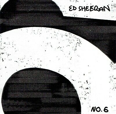 Ed Sheeran No6 Collaborations Project cd NEW SEALED