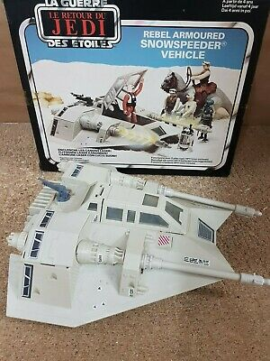 Star Wars.Retorno del Jedi.Snowspeeder Vehicle.con caja.Kenner 1983