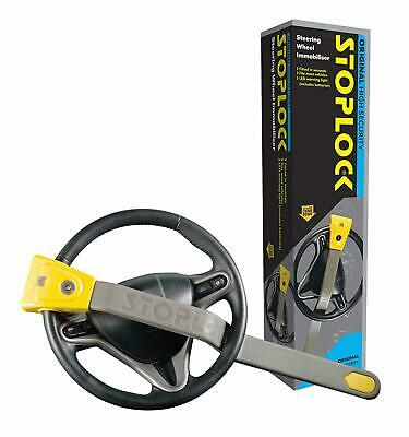 Stoplock Original Steering Wheel Lock For Cars Secure Anti Theft Device W Keys