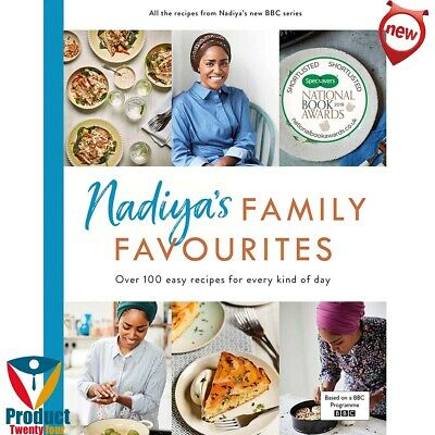 Nadiya'S Family Favourites: By Nadia Hussain Hardcover Book New Recipes Hardback