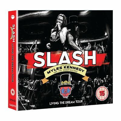 SLASH feat. MYLES KENNEDY... LIVING THE DREAM TOUR 2CD/DVD - Released 20/09/2019