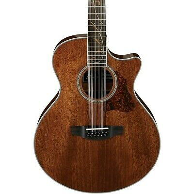 Ibanez AE2412 12-String Acoustic-Electric Guitar High Gloss Natural LN