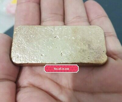 100 grams Scrap gold bar for Gold Recovery melted different computer coin pins