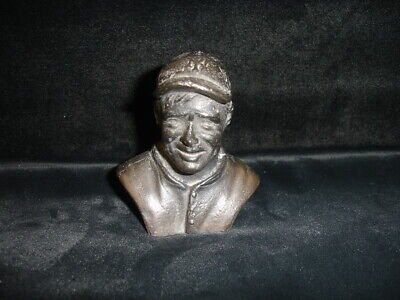 1963 Sports Hall of Fame Christy Mathewson NY Giants Metal Die-Cast Bust - RARE