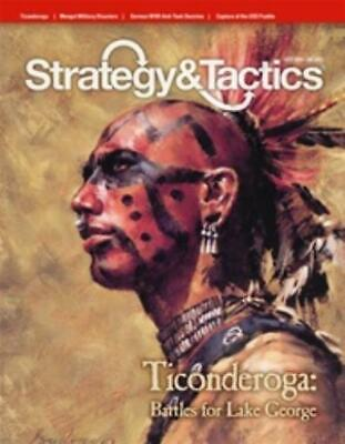 Decision Strategy & T #277 w/Ticonderoga - The Battles for Lake George Mag MINT