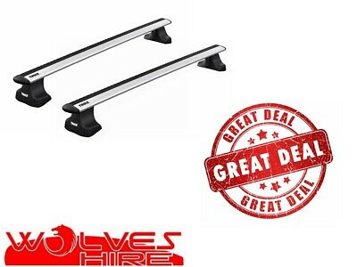 THULE ROOF BARS  FIT ALUMINIUM WING BARS FITS FORD S-MAX WITH GLASS ROOF 2006/>