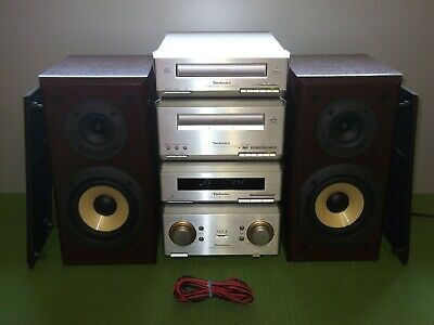 Technics Mini Hifi System ST-HD350 SE-HD350 SL-HD350 RS-HD350 & Speakers