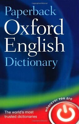 (Good)-Paperback Oxford English Dictionary: 120 000 words, phrases, and definiti