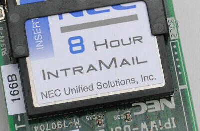 NEC Aspire-S 4-Port, 8-Hour Intramail Voicemail Card (0892179)