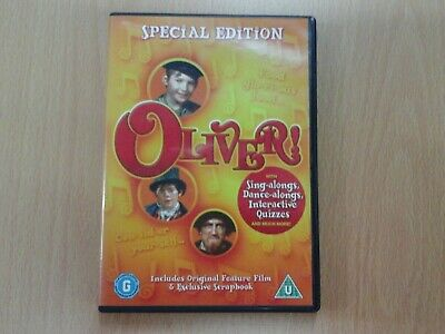 oliver dvd 1968 film, ron moody, special edition