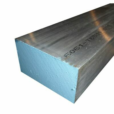 "6061 Aluminum Rectangle Bar, 0.625"" x 2"" x 24"""