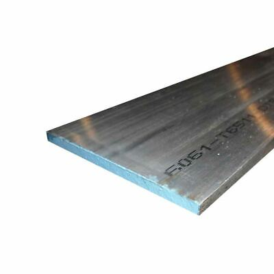 "6061 Aluminum Rectangle Bar, 0.500"" x 0.750"" x 24"""