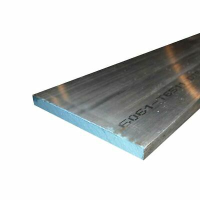"6061 Aluminum Rectangle Bar, 0.375"" x 2"" x 12"""