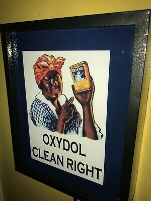 Oxydol Soap Detergent Mammie Kitchen Man Cave Adverising Lighted Sign