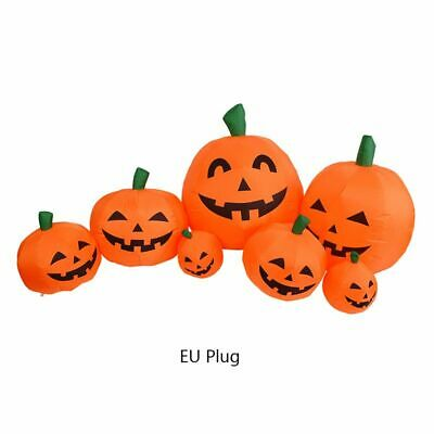 Halloween Inflatable Vampire Outer Large Pumpkin LED Ghost Garden Decoration