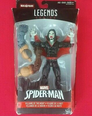 2015 Marvel Legends Villains of the Night Morbius In Hand BAF