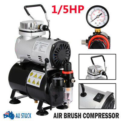 3L Air Brush Compressor 5/7/22cc Airbrush Dual Action Spray Kit For Painting AUS