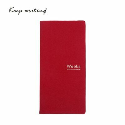 48k notebook Undated Weekly Monthly planner daily plann with 72 sheets cream