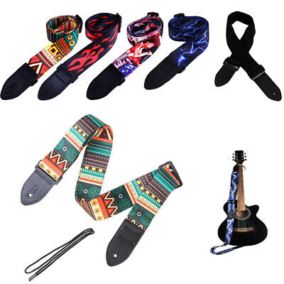 Nylon Guitar Strap Adjustable Bass Belt For Electric Or Acoustic Guitar 1PC