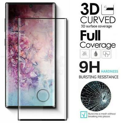 6D For Samsung Note 10 Pro 5G Full Cover Tempered Glass Screen Protector Film