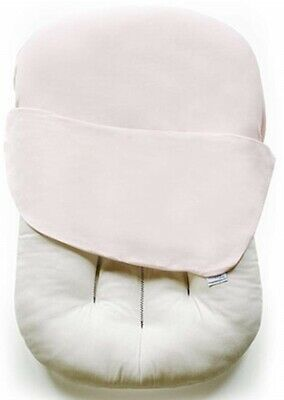 Snuggle Me Organic Lounger Baby Co Sleeping Mattress Pad Sugar Plum with Cover