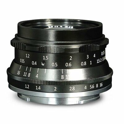 7 artisans 35mm F1.2 Prime Lens for SONY for Fuji for Canon for M43 Camera Photo