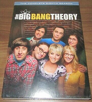 The Big Bang Theory: The Complete Eighth Season (DVD, 2015) .. sealed new