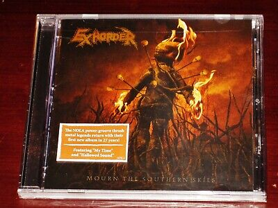 Exhorder: Mourn The Southern Skies CD 2019 Nuclear Blast Records USA 5070-2 NEW