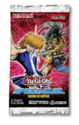 Konami YGO Booster Pack Speed Duel - Scars of Battle Booster Pack MINT