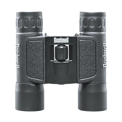 Bushnell Powerview 10x25 Compact Folding Roof Prism Binocular (Black) - 132516