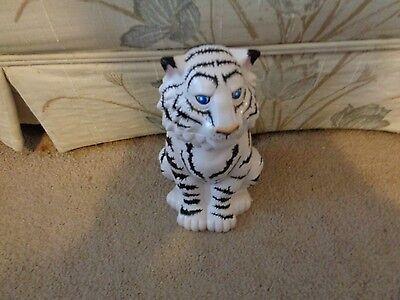 2001 Ringling Brothers Barnum & Bailey Greatest Circus Blue Eyes White Tiger Mug
