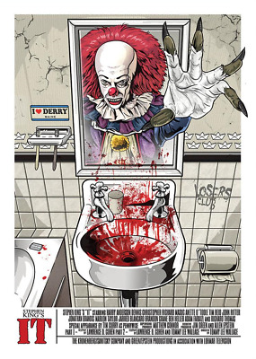 Stephen King IT Chapter Two > Mr King Presents Pennywise The Dancing Clown Print