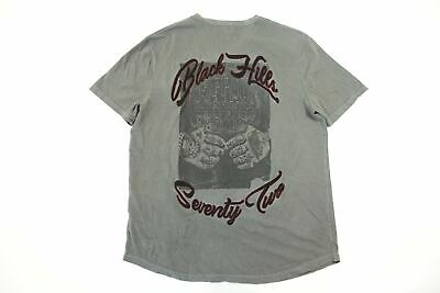 Buffalo David Bitton Black Hills Seventy Two Vintage Retro Tattoo Art Tshirt Nwt