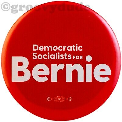 Democratic Socialists Bernie Sanders President Official 2020 Pin Pinback Button