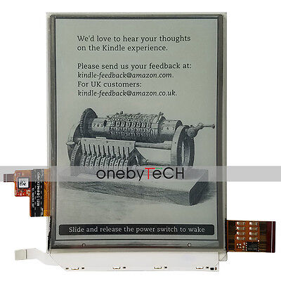 Kindle Paperwhite E-Tinte ED060XC3 LCD Display Touch + Hintergrundbeleuchtung