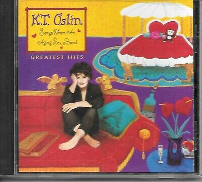 K.T. Oslin Greatest Hits Songs From an Aging Sex Bomb cd VG