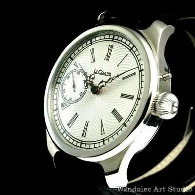 Le COULTRE Vintage Mens Wrist Watch LeCoultre Mechanical Men's Wristwatch Swiss